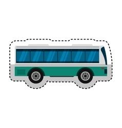bus transport public icon vector image vector image