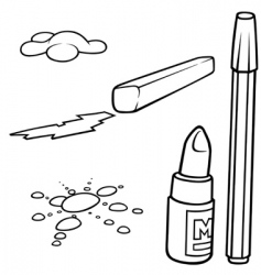 drawing set vector image vector image