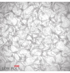 Polygonal abstract background low poly molecule vector