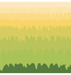 Green grass valley abstract natural environmental vector