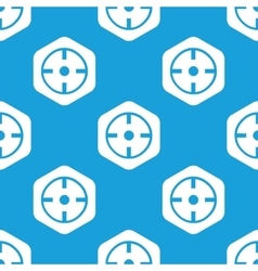 Target hexagon pattern vector