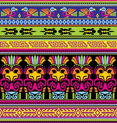 animals mexican background vector image vector image