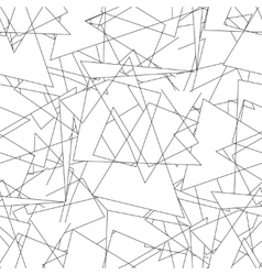 Geometric seamless simple black and white vector