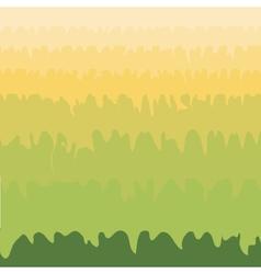 Green grass valley abstract natural environmental vector image vector image