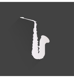 Music wind instruments icon vector image