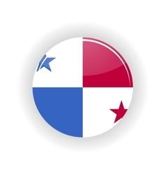 Panama icon circle vector image