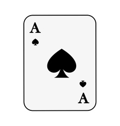 Poker card isolated icon design vector