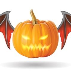 pumpkin No2 vector image vector image