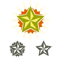 Stars new vector image vector image