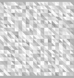 Triangle pattern seamless gray and white vector
