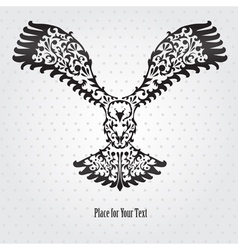Decorative eagle vector