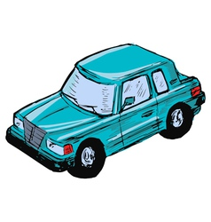 Toy car vector
