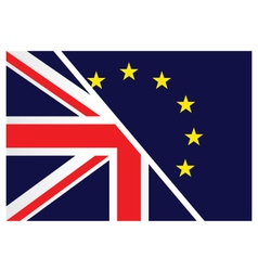 United kingdom exit from the european union vector