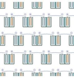 Battery pattern vector