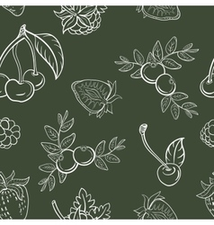 BerryPattern52 vector image