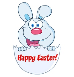 Happy Easter cartoon vector image vector image