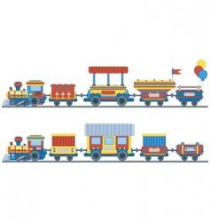 Train for kids design vector