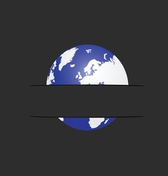 Planet in pocket vector