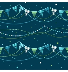 Party pennant bunting vector