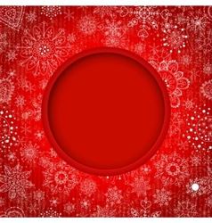 Christmas balls cut the paper vector