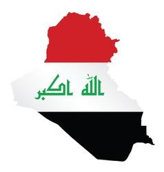 Iraq flag vector