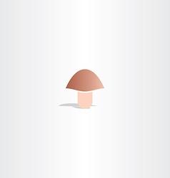 logo mushroom icon vector image