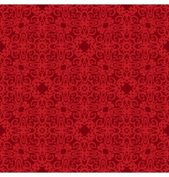 Seamless Background red pattern backdrop vector image vector image