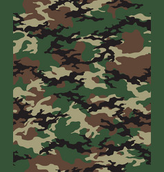 Seamless camouflage pattern vector