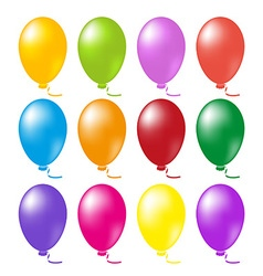 Balloons set vector