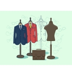 Mannequin for clothes vector image