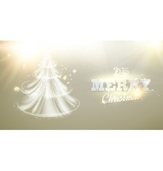 Christmas fir-tree vector