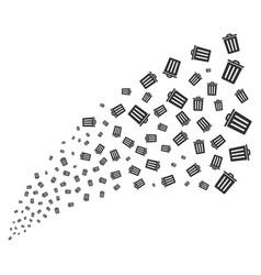 Dustbin source stream vector
