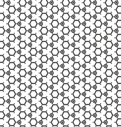 Hexagon geometric cover fabric pattern wallpaper vector