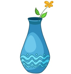Cartoon home vase vector