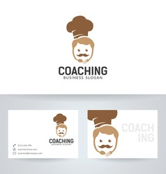 Chef coaching vector