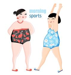funny women vector image