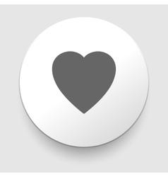 Hearth symbol vector
