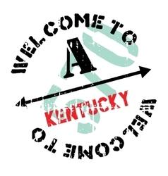 Kentucky stamp rubber grunge vector