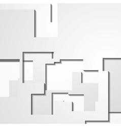 Modern light geometrical design vector image vector image