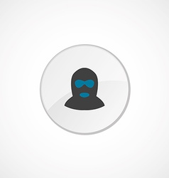 Offender icon 2 colored vector