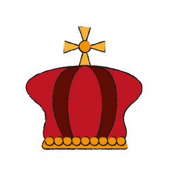 Royal crown icon image vector