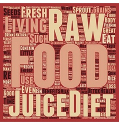 B raw food diet b text background wordcloud vector