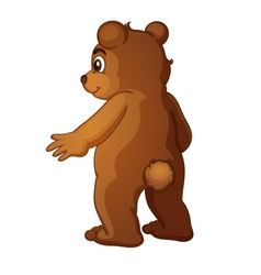 Brown bear vector image vector image