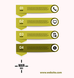Creative infographics elements eps10business vector