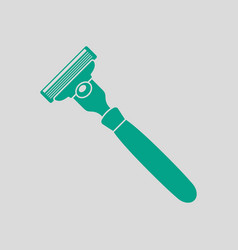 Safety razor icon vector