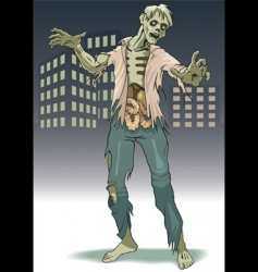 zombi vector image