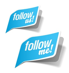 Follow me vector