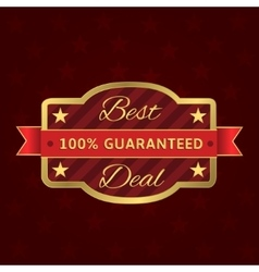 Best deal label vector