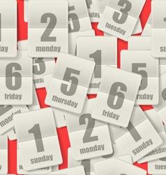 Calendar Page vector image vector image