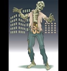 zombi vector image vector image